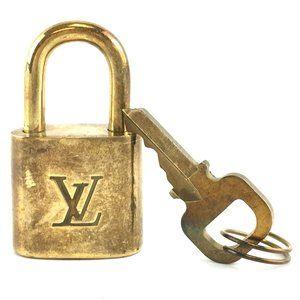 Louis Vuitton Gold Keepall Speedy Lock Key Set#307